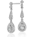 Buy Now: Diamond Vintage Teardrop Earrings