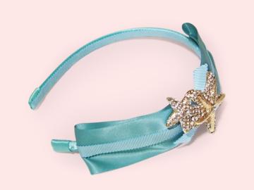 : Bartolo Ocean of Dreams Crystals Seastar Starfish Headband
