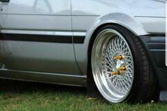Selling: Klutch SL1 Wheels 16x8 (+15, 4x100)