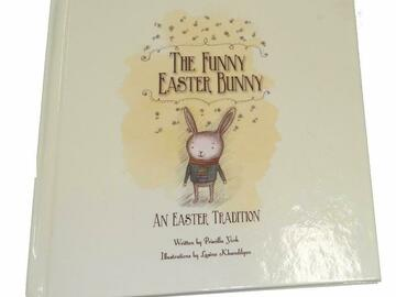 """Buy Now: 48 Books - """"The Funny Easter Bunny"""" Kids Hard Cover Book"""