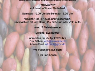 Workshop Angebot (Termine): LEIDER ABGESAGT:Permakultur-Einführungskurs plus Kartoffeln,