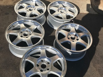"Selling: ENKEI 18"" 5x127 jeep wheels (5)"