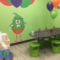 Request To Book & Pay In-Person (hourly/per party package pricing): Monster Yogurt Party (Dallas Location)
