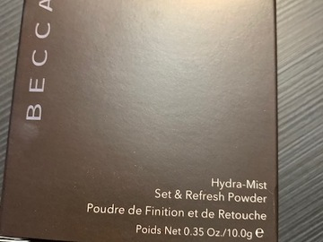 Venta: HYDRA  MIST SET & REFRESH POWDER DE BECCA