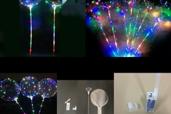 Buy Now: Balloon LED flashing pole 70cm Toys 60pc