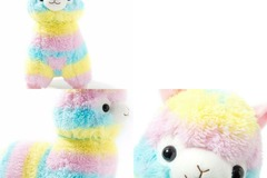 Buy Now: Alpaca Plush Soft Stuff Animals Rainbow 10pc
