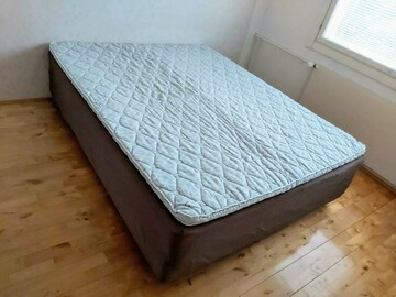 Myydään: QUEEN SIZE BED(160cm×200cm) with FREE DELIVERY