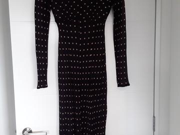 Selling: Black Dress with beige spot