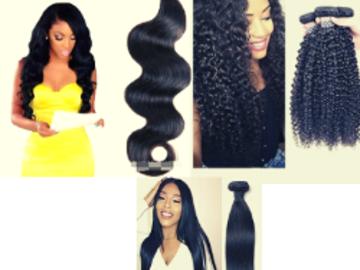 Buy Now: Virgin Human Hair Wig 9 Bundle Malaysian India Brazilian Weave