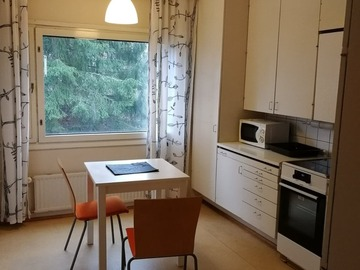 Annetaan vuokralle: One bed room in shared apartment Tapiola