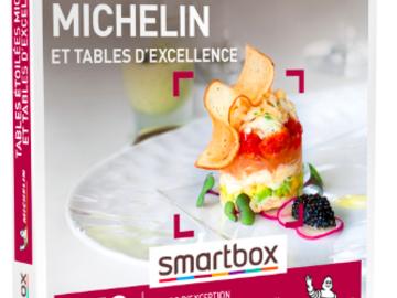 """Vente: e-coffret Smartbox """"Tables étoilées MICHELIN"""" (149,90€)"""