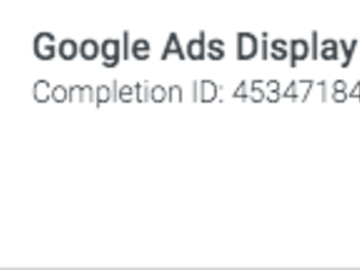 Offering with online payment: Google Ads and Analytics