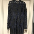 Selling: Navy and black lace dress
