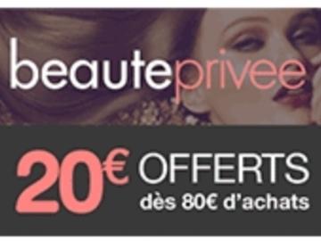 Vente: Bons de réduction Beauté Privée (3 x 20€)
