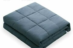 "Buy Now: Weighted Blankets 60x80"" 20 lbs"