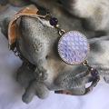 Vente au détail: Bracelet et cabochon cuir