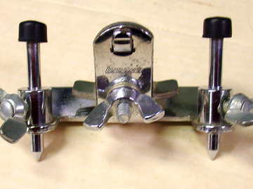 "Selling with online payment: 1970s LUDWIG ""Ringo"" bass drum clamp on stop"