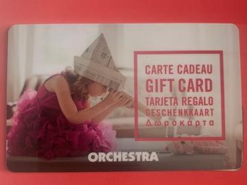 Vente: Carte cadeau Orchestra (200€)