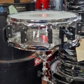 Selling with online payment: Vintage Zickos Stealth 5x14 clear cast acrylic snare drum