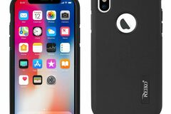 Buy Now: REIKO iPhone X SOLID ARMOR DUAL LAYER  CASE Black