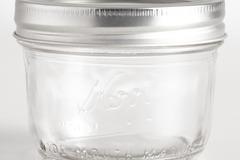Buy Now: 2126 pcs - Pallet Deal – Kerr Wide Mouth 8 Oz. Glass Mason Jars