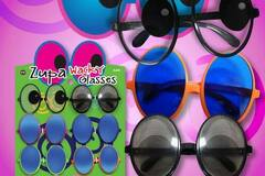 Buy Now: 120 Pairs of Glasses - Zupa Novelty Wacky Party Sunglasses