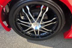 """Selling: 18"""" Enkei wheels."""
