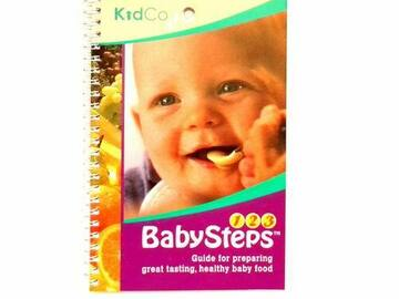 """Buy Now: Kidco """"Baby Steps""""12 book lot Baby Feeding Instruction  Healthy B"""