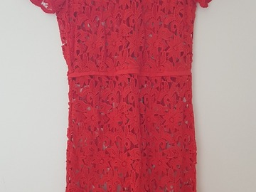 Selling: Red Lace Dress