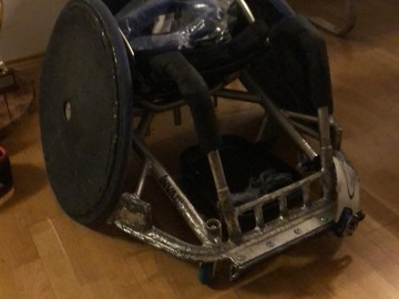 Selling with online payment: Rugby rollstuhl Ottobock invader