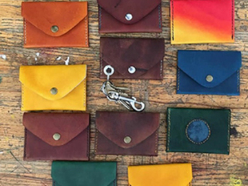 15 Credits: DIY Leather Wallets