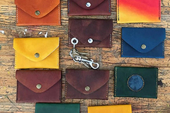 9 Credits: DIY Leather Wallets
