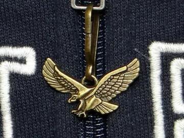 Buy Now: American Bald Eagle Bronze Tone Polyresin Zipper Pull Item#32150