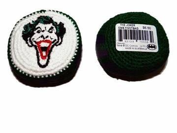 "Buy Now: 40 Knit Bags-Licensed ""The Joker"" Batman Dc Comics Hacky Sack"