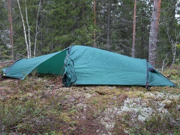 Hyr ut (per day): Fjällräven Akka Shape R/S 2