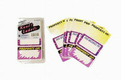 Buy Now: 144 Packages - 30-Pack Property Label Stickers–Only 35 Cents/Pack