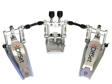 Selling with online payment: OffSet™ Eclipse Double Bass Drum Pedal