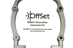 Selling with online payment: OffSet™ Drum Pedal Direct Drive Conversion Kit
