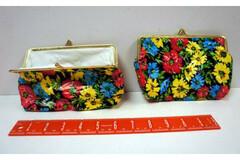 Buy Now: 72 Floral Purses - Floral Design Snap-Closure Coin Purse Wallet