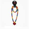 Buy Now: 96 pcs -Kohl's Rainbow Glitter Heart Beaded Necklace & Bracelet S