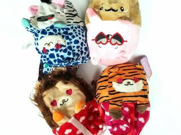 Buy Now:  288 Moodies Reversible Valentine's Day Plush Toy Animals