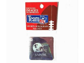 Buy Now: 100 Magnets - Licensed NFL New Orleans Saints Hologram Magnet