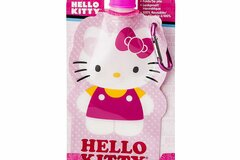 Buy Now: 36 Pieces - Hello Kitty 16oz Collapsible Kids Water Bottle – Zak!