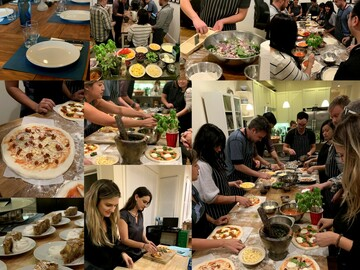 per person: Pizza Making Workshop