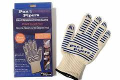 Buy Now: 12 Mitts - Pan Pipers Kevlar Oven Glove Mitt (Double Sided)