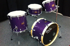 SOLD!: SOLD! Bello Drums Fusion model fiberglass drum set reduced 50%