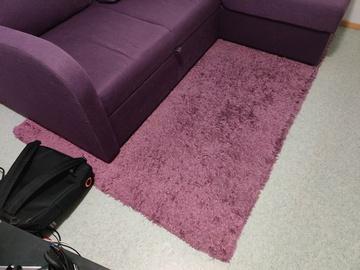Myydään: Soft purple carpet 200x140cm