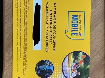Vente: Chèque activité sportive (40€)