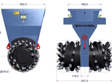 Weekly Equipment Rental: ROCKWHEEL D15