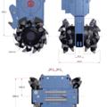 Hourly Equipment Rental: ROCKWHEEL G5